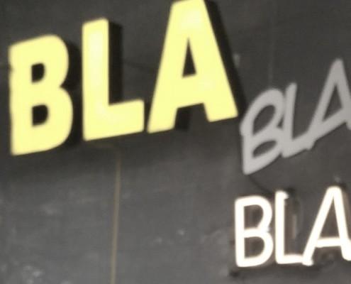 Blah bla bla klein